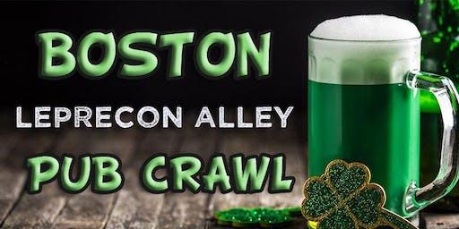 波士顿(芬威)Lepreon Alley St Patrick's Weekend Pub Crawl