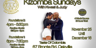 Kizomba Dance Lessons In Oakville With Kwesi & Judy