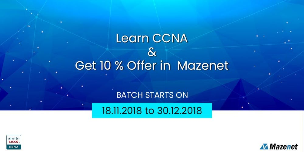Enquire For Free Ccna Training Certification In Coimbatorewith