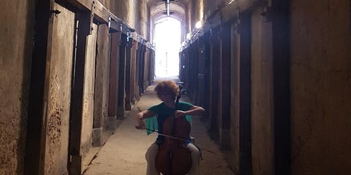 Bach in the Dark at the Coal Loader Tunnel – Cello and Percussion