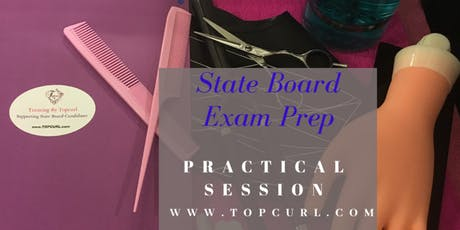 Cosmetology State Board Practical Exam Prep 1 on 1 Refresher Session  tickets