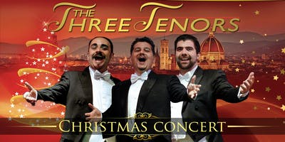 Christmas Concert with the Three Tenors + Dinner