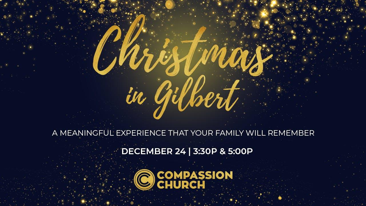 Christmas Eve in Gilbert