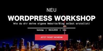 WordPress Workshop - für Einsteiger am 08. Dezember 2018 in Linz