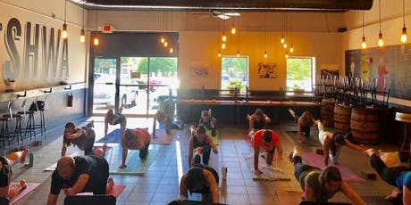 Yoga & Beer with Double Iris Yoga tickets