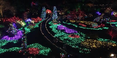 Discover BUTCHART GARDENS & The Magic of Christmas. TRANSPORTATION ONLY