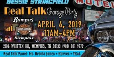 """Bessie Stringfield All Female Ride """"REAL TALK"""" Garage Party - TENNESSEE"""