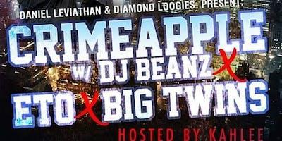 CRIMEAPPLE wit BEANZ x Eto x Big Twin