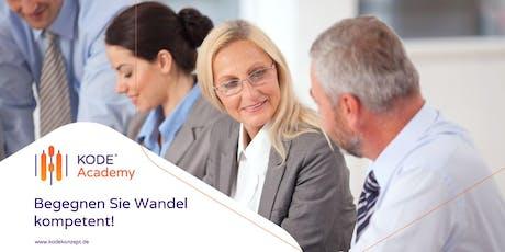 KODE®X Berater - Lizenzausbildung, München, 23.11.2019 Tickets