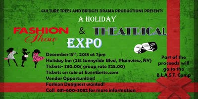 Holiday Fashion Show & Bridges Theatrical Expo by Culture Trees & Bridges Drama