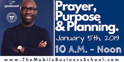 Prayer, Purpose & Planning: Vision Boarding 2019