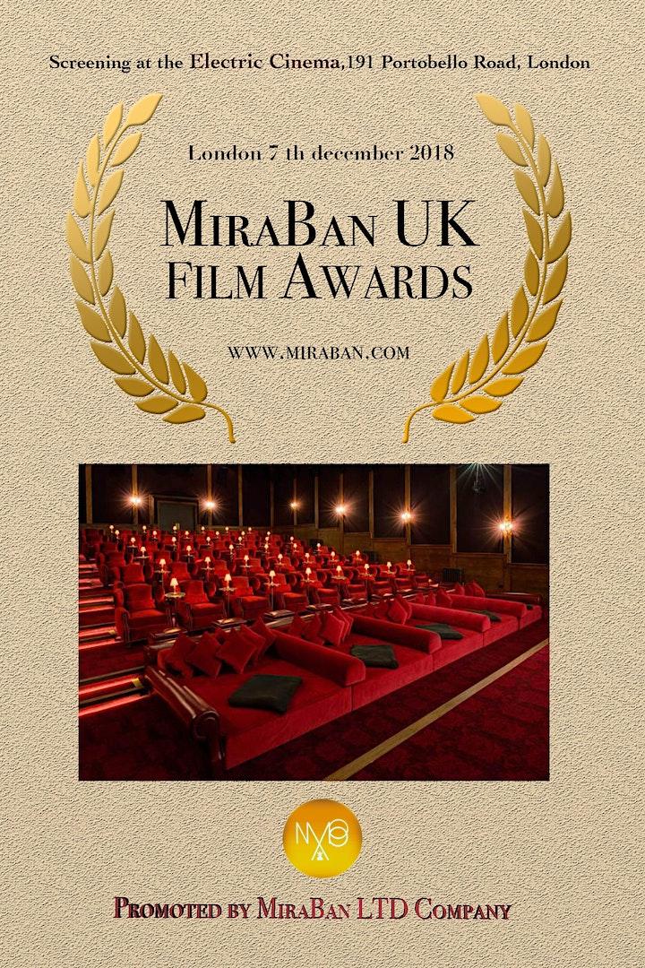 MiraBan UK Film Awards image