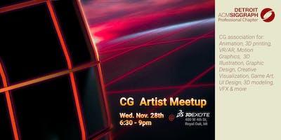 CG Artists Meetup Nov 2018 @ 3DExcite