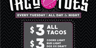 Taco Tuesdays at El Hefe Free Guestlist - 1/22/2019