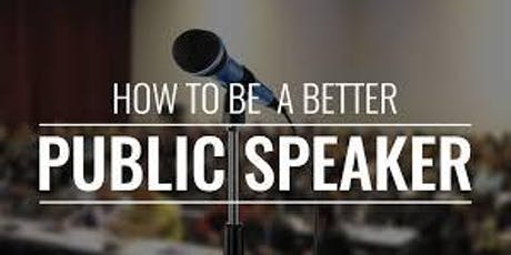 Public Speaking Workshops [NAPW North America Professional Women] tickets