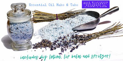 The Gift of Wellness! A Holiday Inspired Essential Oil DIY Afternoon