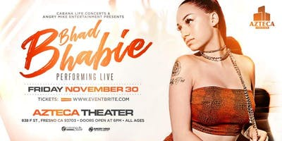 Bhad Bhabie live in Fresno at Azteca Theater