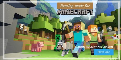 Minecraft - Develop Your Own Mods: SCRATCHPAD Holiday Programme tickets