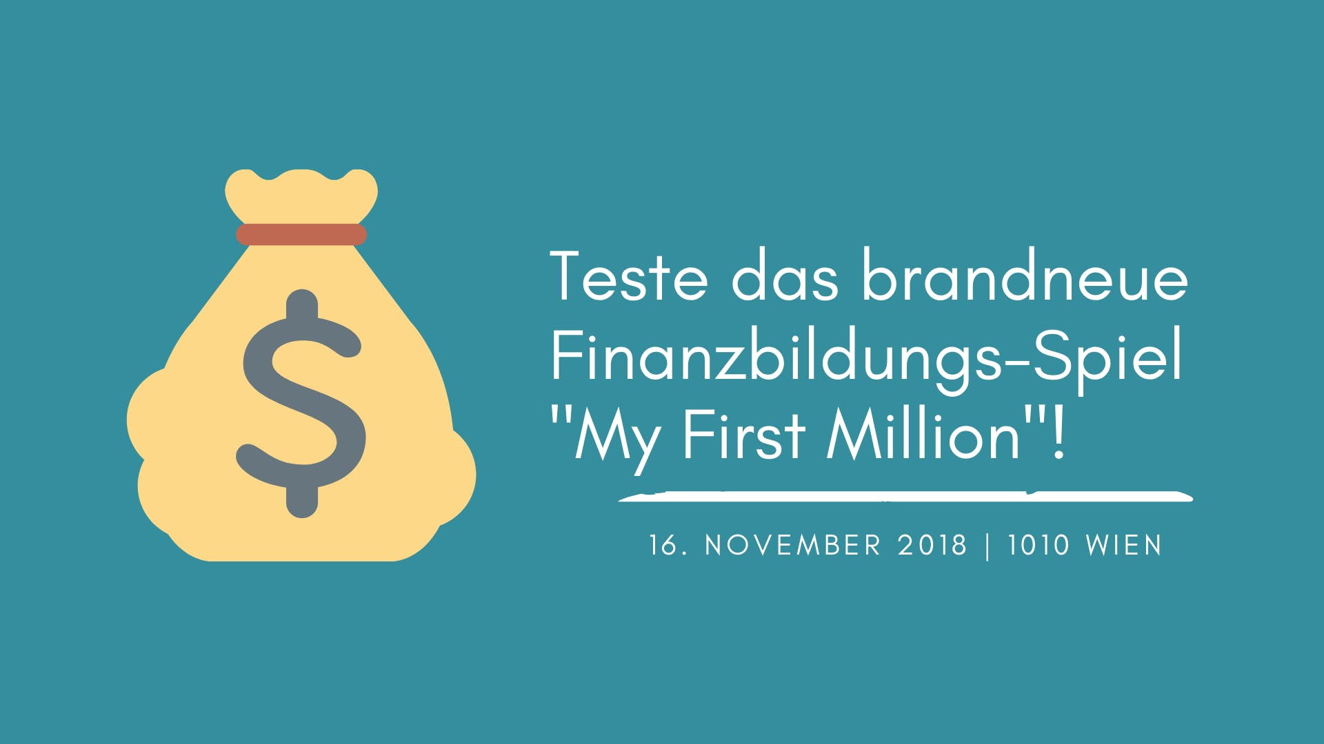 My First Million - Spieleabend Wien - 16.11.2