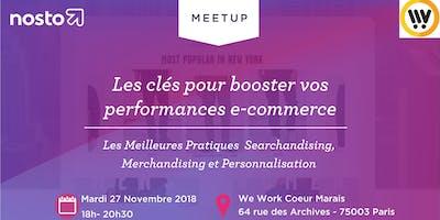 Meetup Afterwork - Les clés pour booster vos performances e-commerce