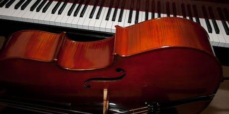 FUSCO & GAGLIARDI cello and piano duo biglietti