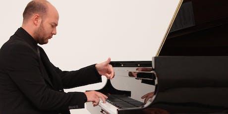 DAVIDE VALLUZZI piano recital biglietti