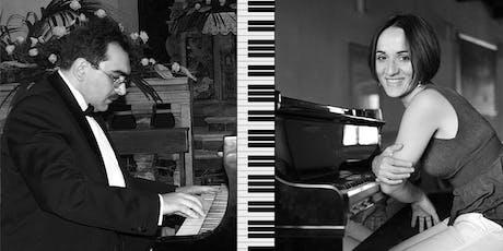 GIORDANO & VALANZUOLO piano four-hands biglietti
