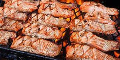 Saturday Night Salmon Bake at 2019 Western Regional HOG Rally