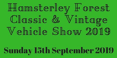 Hamsterley Forest Classic & Vintage Vehicle Show 2019 tickets