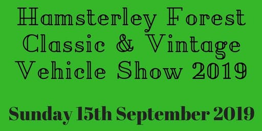 Hamsterley Forest Classic & Vintage Vehicle Show 2019