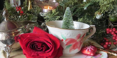 Traditional Exquisite Holiday Afternoon Tea & Vintage Craft Make & Take