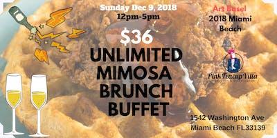 Art Basel Brunch Buffet w/ Unlimited Mimosas $36!