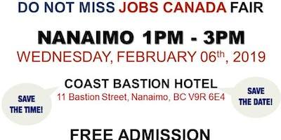 FREE: Nanaimo Job Fair – February 06, 2019