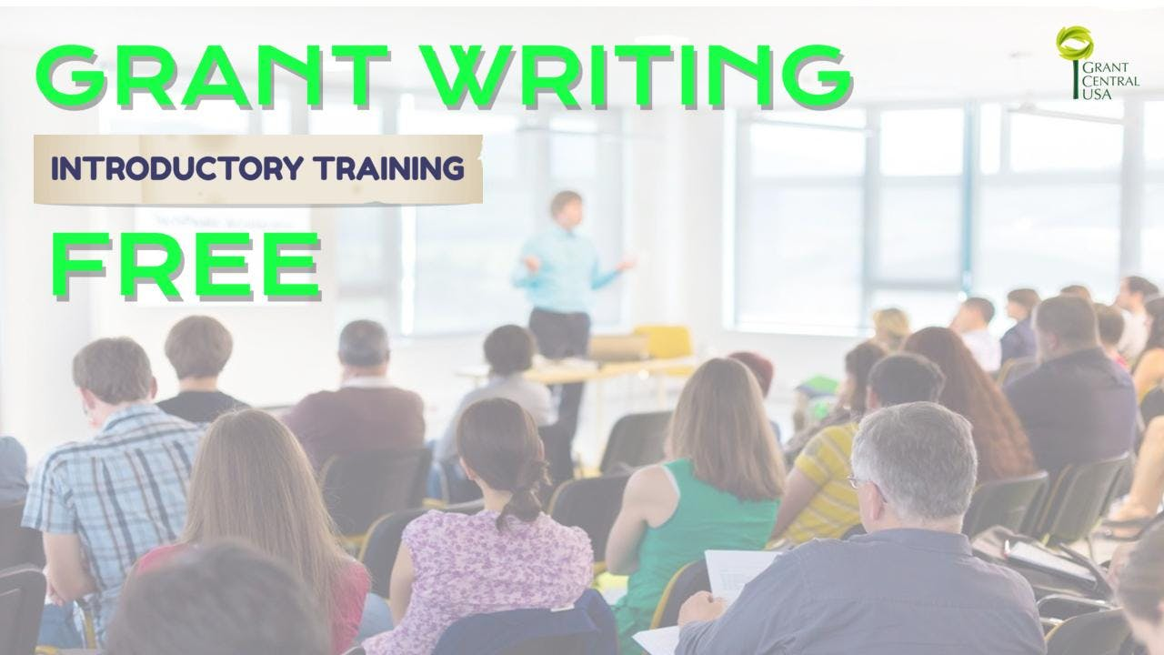 Free Grant Writing Intro Training Visalia California