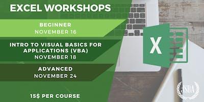 JSBA   Excel Workshops