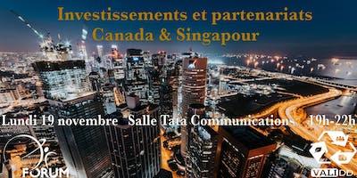 Investissements et partenariats à Singapour