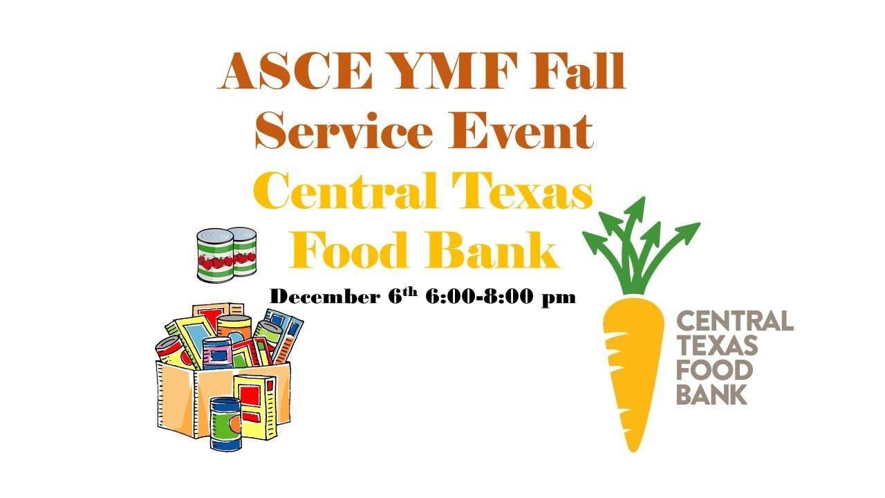 Central Texas Food Bank Volunteering 6 Dec 2018