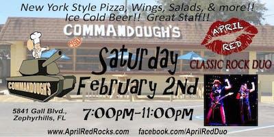 April Red LIVE at Commandoughs in Zephyrhills!