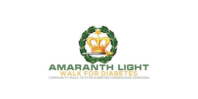 2nd Annual Amaranth Light Walk for Diabetes