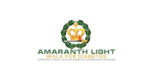 2nd Annual Amaranth Light Walk for Diabetes