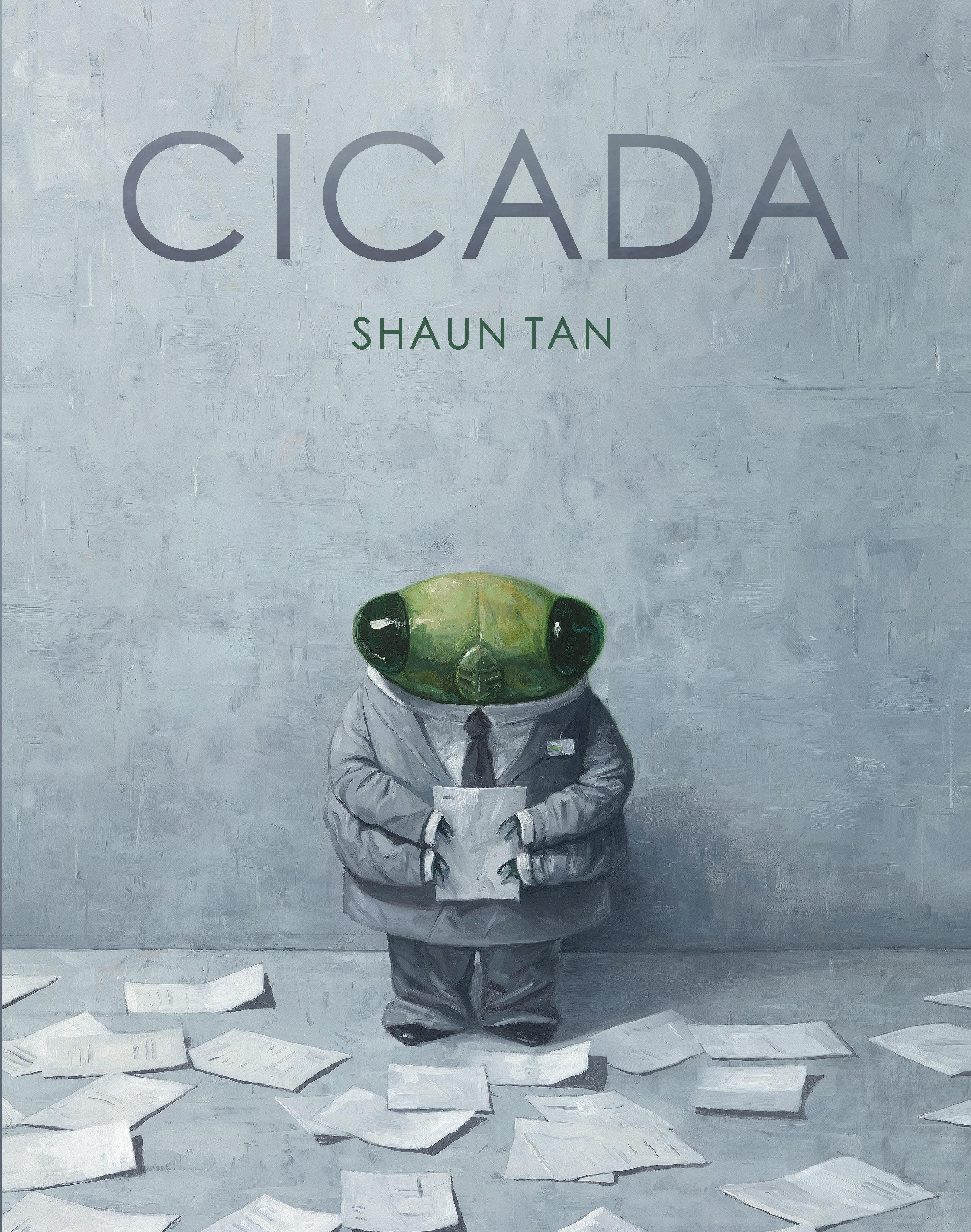 Cicada by Shaun Tan - Exhibition preview and