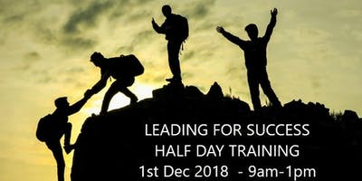Leading for Success - Half Day Training