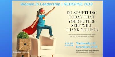 Women in Leadership: REDEFINE 2019
