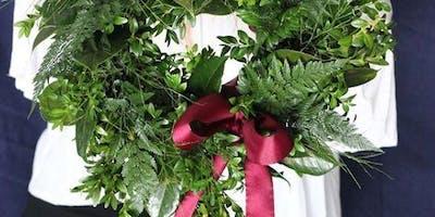 Christmas Ever Green Wreath Workshop 10am 15/12/18