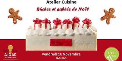 Atelier Cuisine Noël HEC\