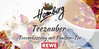 Teezauber mit Paulsen Tee - Teeverkostung bei REWE Homberg
