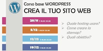 Come creare il tuo sito web con Wordpress