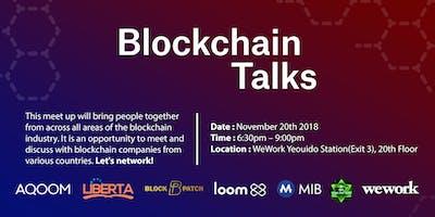 Blockchain Talks Part 1!