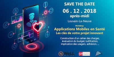 Workshop - 1ère session - Applications Mobiles en santé