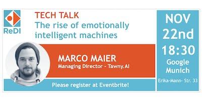 The Rise of Emotionally Intelligent Machines